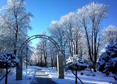 Oyonnax - Le parc René Nicod