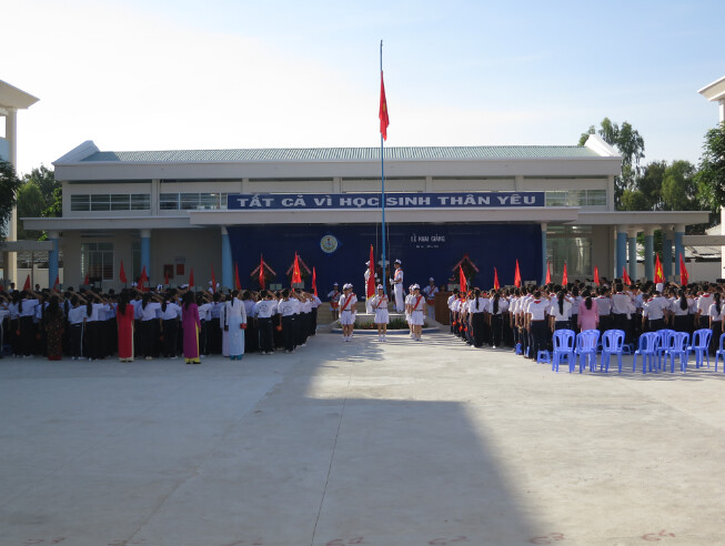Lễ Khai giảng năm học mới 2013 - 2014