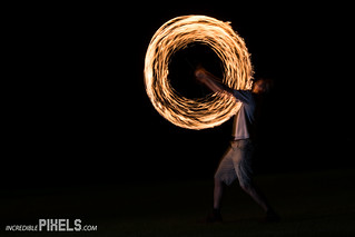 Incredible Pixels - Fire Spinning - Essex