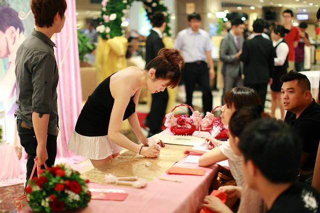 2012.06.02.黃泓嘉&方惠娟.結婚午宴 中壢中信飯店