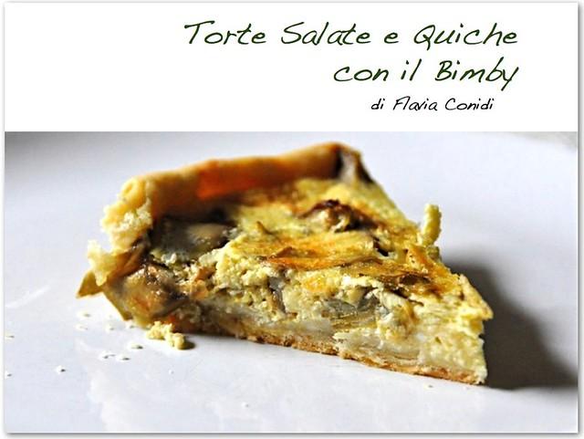 Torte Salate e Quiche con il Bimby: Ricettario eBook PDF