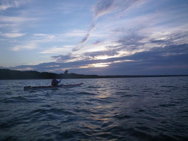 Sunrise over Katama Bay