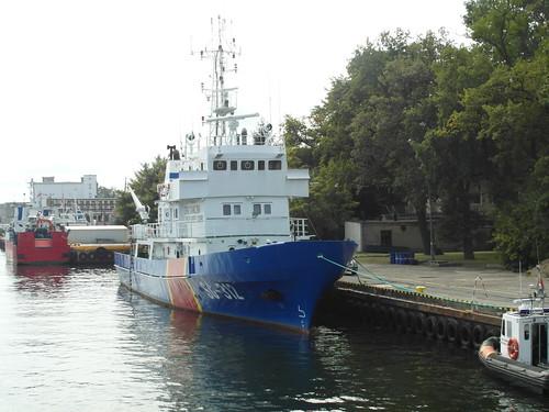 Grenzwachschiff SG-312 in Kolobrzeg (PL)