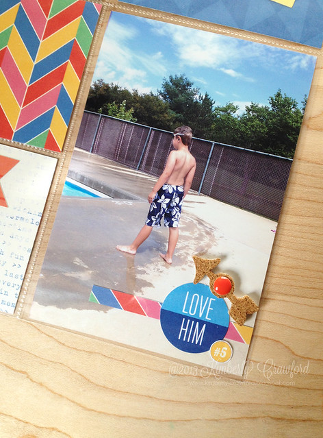 summertime pool fun Elles Studio 6 by Kimberly Crawford
