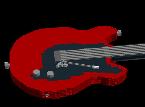 Electic Guitar 1:1 Scale.