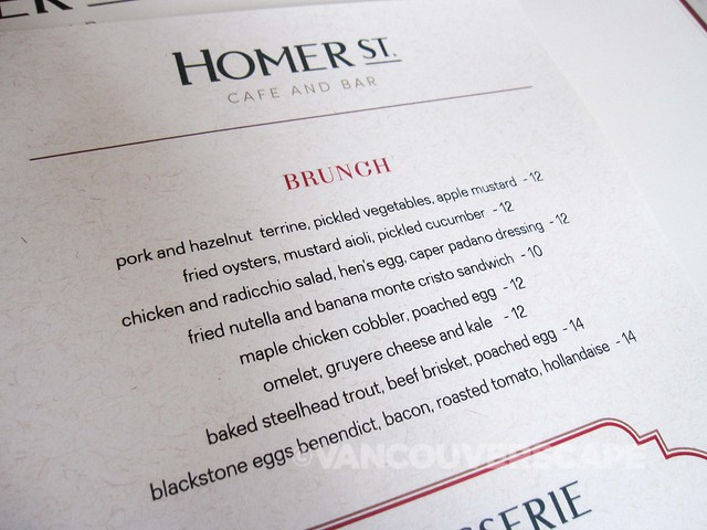 Homer Street Cafe and Bar Brunch-2