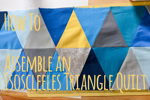 BYOV: bring your own vegetables: How To: Assemble an Isosceles ... : equilateral triangle quilt tutorial - Adamdwight.com