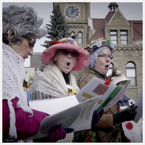 March Against Monsanto 2013 - raging grannies