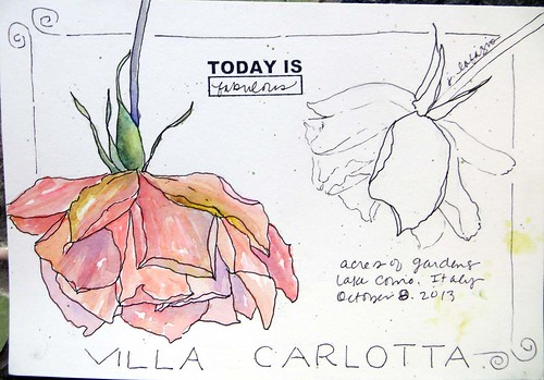 from my sketchbook ~ italy