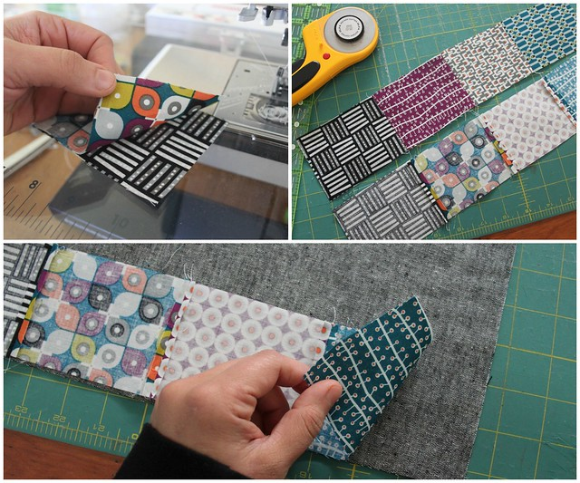 Adding patchwork