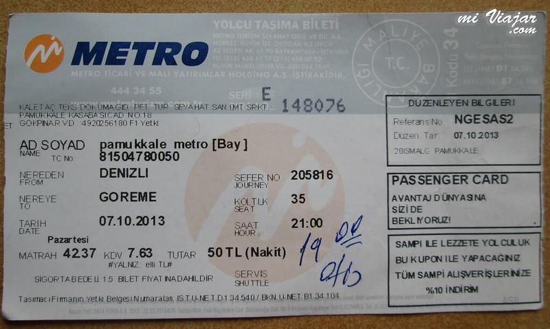 Turquia, metrobus