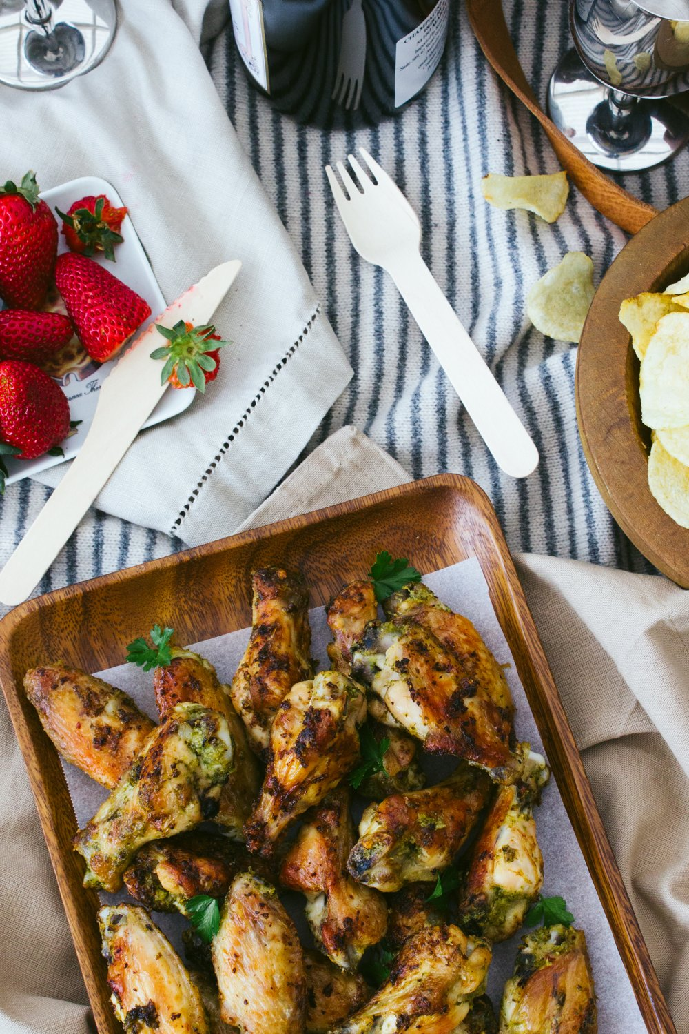 Quick Ginger Chicken Wings