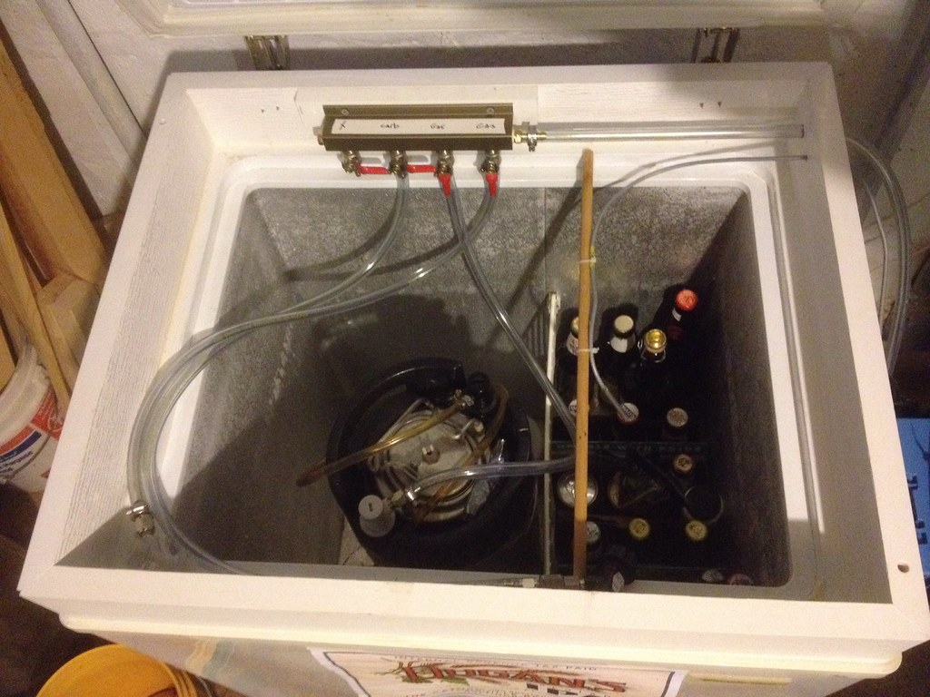 kegerator cable management