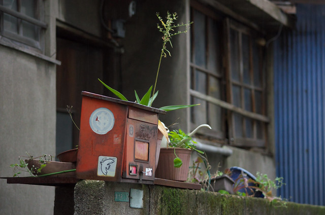 東京路地裏散歩 郵便受け 2013年11月4日