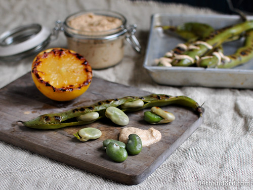 Chargrilled Broad Beans (Fava Beans)