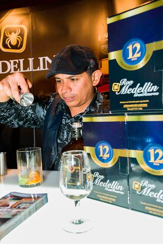 Stand Ron Medellín en el VI Ron Festival