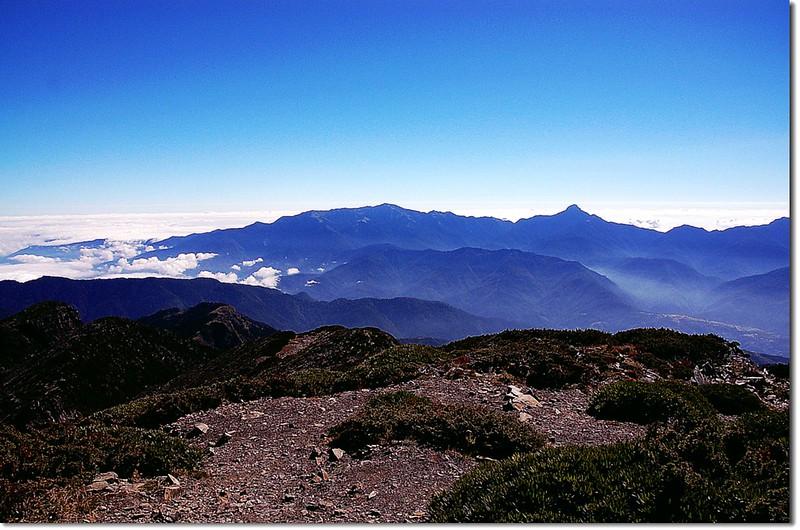 北一段群山(From 雪山頂) 1