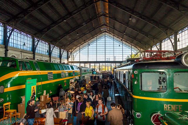 Museo del Ferrocarril, Estación de Delicias, Madrid