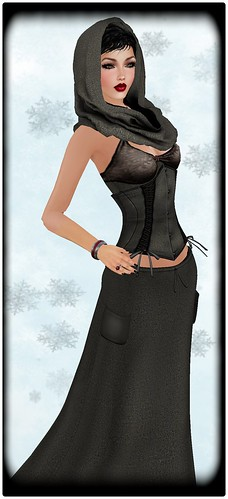 [LIV-Glam]WINTER-2012- Rhawnie Outfit I HudWearMe by Orelana resident