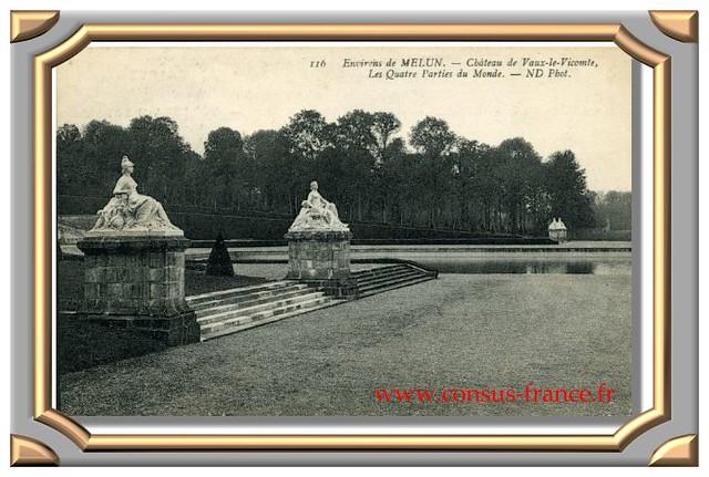 Château de Vaux-le-Vicomte, les Quatre Parties du Monde