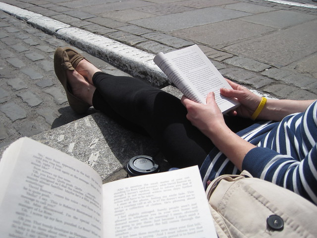 Reading in Covent Garden