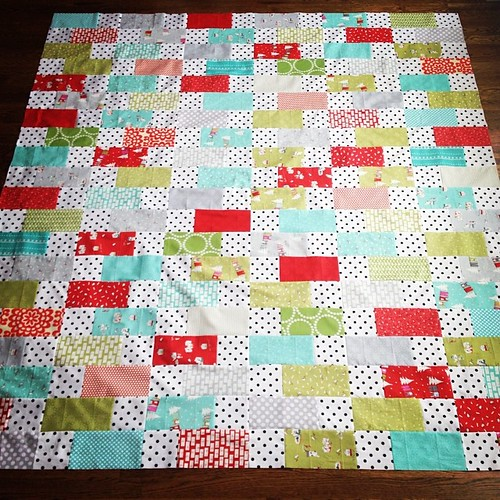 Christmas quilt top completed!!!
