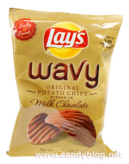 Lay's Wavy Milk Chocolate