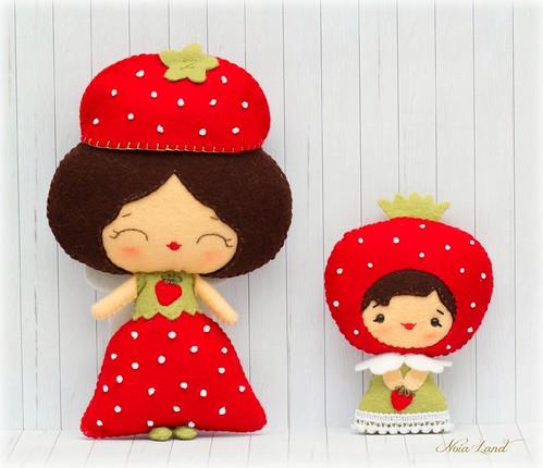 Hadas de las fresas