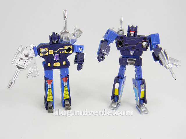 Transformers Frenzy Masterpiece - modo robot vs G1