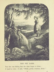 """British Library digitised image from page 17 of """"Wordsworth's poems for the young. With fifty illustrations by John Macwhirter and J. Pettie, etc"""""""