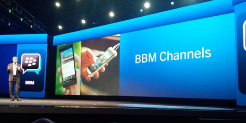 Blackberry rolling out its BBM Social Network
