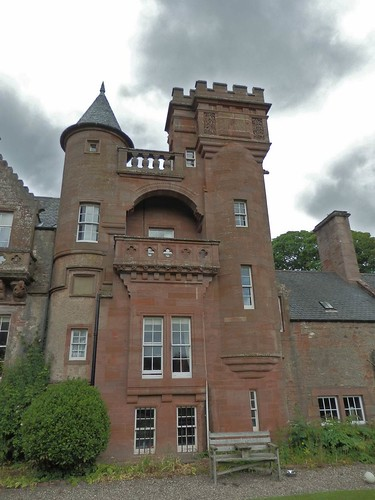 Hospitalfield from the south