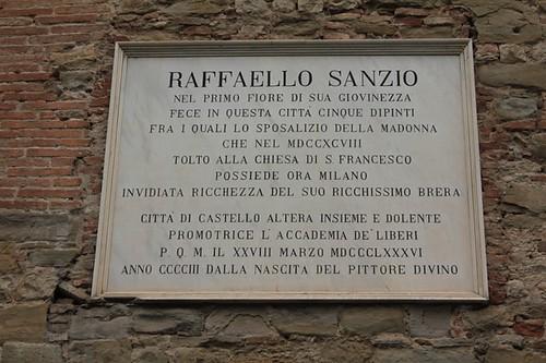 Raffaello Sanzio a Città di Castello