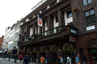 Prince Edward Theatre in Soho