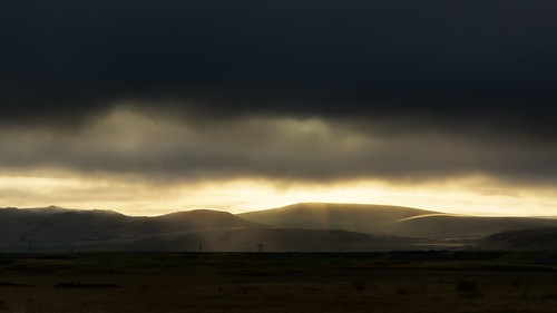 light sky black mountains art silhouette yellow clouds sunrise landscape licht iceland nikon day cloudy outdoor wolken zwart hella d7100