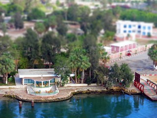 """Villa on the Canal""  -  Suez Canal, Egypt"
