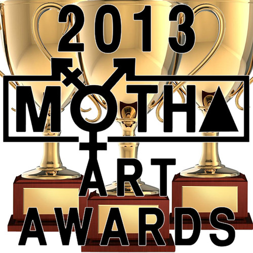 2013 Art Awards trophies