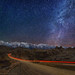 "Starlight road through the Alabama Hills by IronRodArt - Royce Bair (""Star Shooter"")"