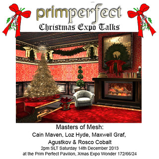 Prim Perfect Christmas Expo Talks with MEN of MESH
