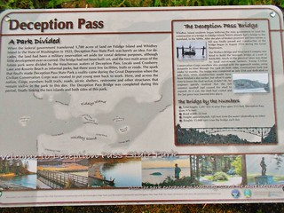 Deception Pass Signage