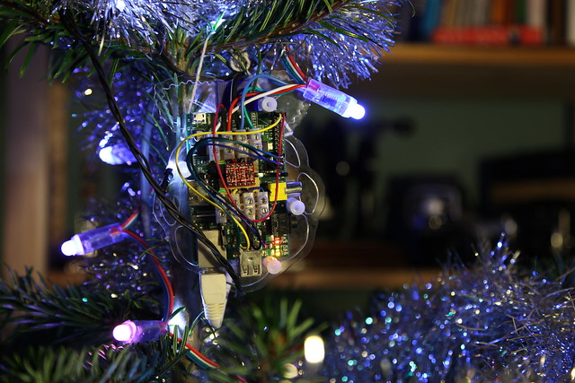 Twitter Reflecting Christmas Tree Lights Controller