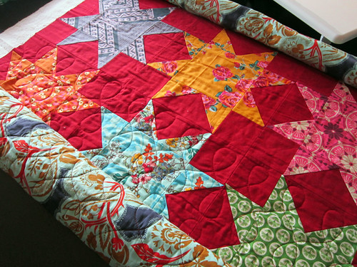 continuous eight quilting