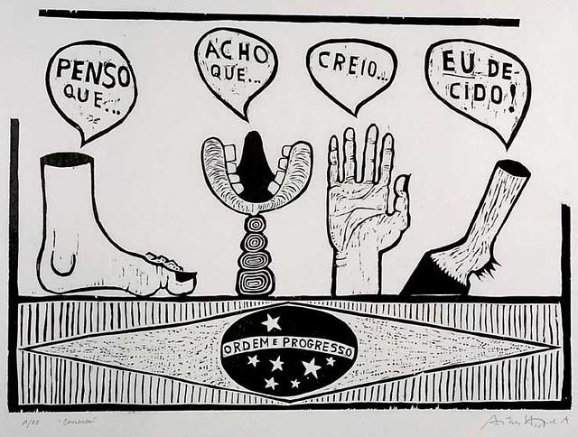 Antonio Henrique Amaral: Consensus, 1967