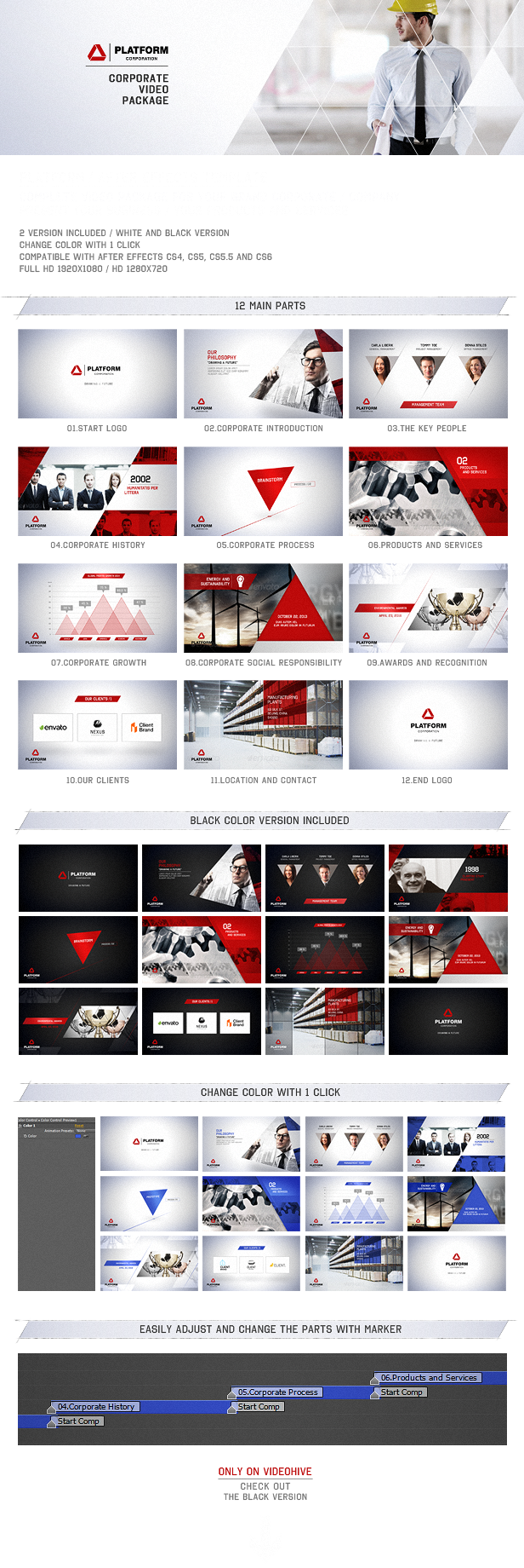 Platform Corporate Video Package Stocking Products Envato Circuit Board Animation 11 By Motionworks Videohive Frame01
