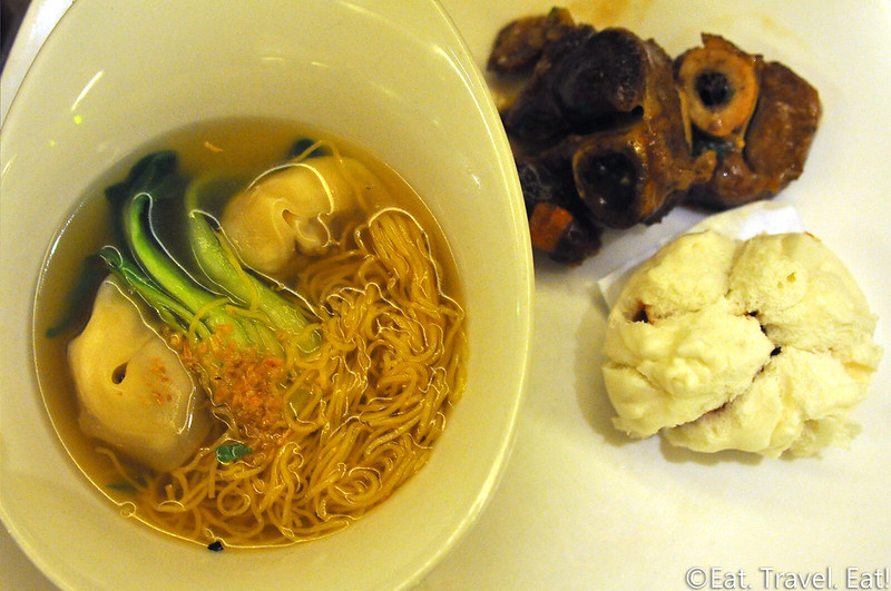 Cravings Buffet (The Mirage)- Las Vegas, NV: Wonton Noodle Soup, Osso Bucco, Char Siu Bao