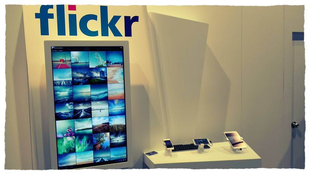 flickr at CES