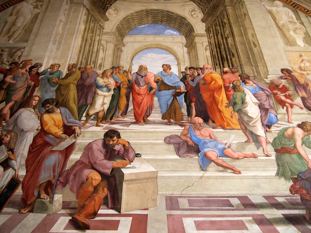 School of Athens by Raphael, Vatican Museums