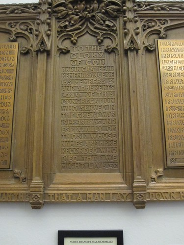 Newington South Church memorial