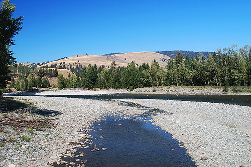 Tulameen River, Princeton, Similkameen region, Southern British Columbia