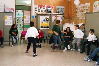 Noicattaro. I bambini della scuola elementare Gramsci